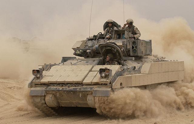 iraq  u0026quot in talks u0026quot  to buy bradley fighting vehicles