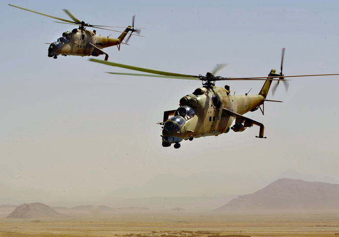 Iraq gets First Shipment of Russian Helicopters | Iraq ...