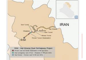 Erbil to Haji Omaran dual carriageway 2