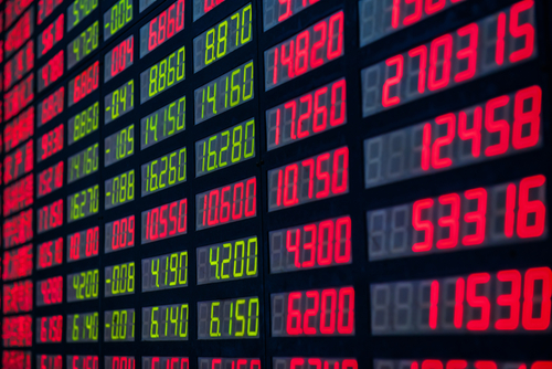Trading system of stock exchange