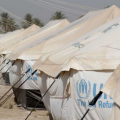 Yusufiya refugee camp in Baghdad