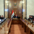Iraqi cabinet meeting 101115