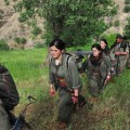 PKK militants in Qandil (editorial only) - shutterstock_232668199