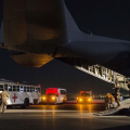C-130H Hercules in Qatar (Inherent Resolve)