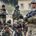 US soldiers training Iraqi army, Camp Taji, Inherent Resolve