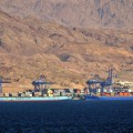 Aqaba port (editorial only) - shutterstock_284048705