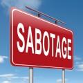 sabotage - shutterstock_131622125