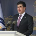 Nechirvan Barzani at American University of Dohuk