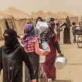 Refugees (IDPs) from Fallujah at Al Khalidiya (OCHA)