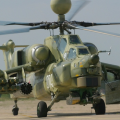 Russian Mi-28 NE Night Hunter military helicopter 1