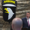 US Defense Secretary Ash Carter, Baghdad, July 11, 2016