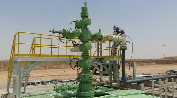 oil well P-07 at Badra (Gazprom Neft)