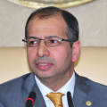 Speaker of the Iraqi parliament, Salim al-Jabouri (2)