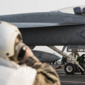 USS Dwight D. Eisenhower, Inherent Resolve