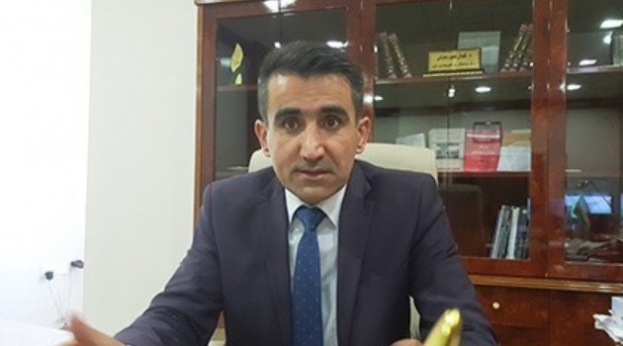 Kamal Tayyib, general manager of the Directorate of Taxes and Public Properties in Erbil (Rudaw)