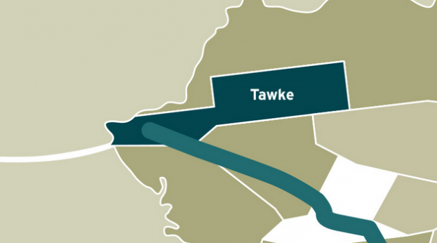 Tawke map (Genel Energy)