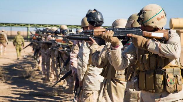 Iraqi Army training, Camp Taji, Feb. 20, 2017 (Inherent Resolve)