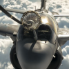 EA-6B Prowler refuels from KC-10 Extender (Inherent Resolve)