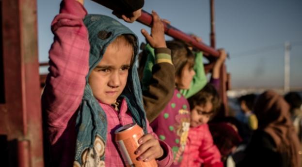 Mosul refugee children (Mercy Corps)