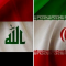 Iran Iraq flags (Tasnim)