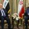 Iraqi Prime Minister Haider al-Abadi and Iranian First Vice-President Eshaq Jahangiri