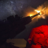 US Marine Corp M777A2 howitzer, Syria 030617 (Inherent Resolve)