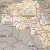 Kurdish area map (CIA 1992)