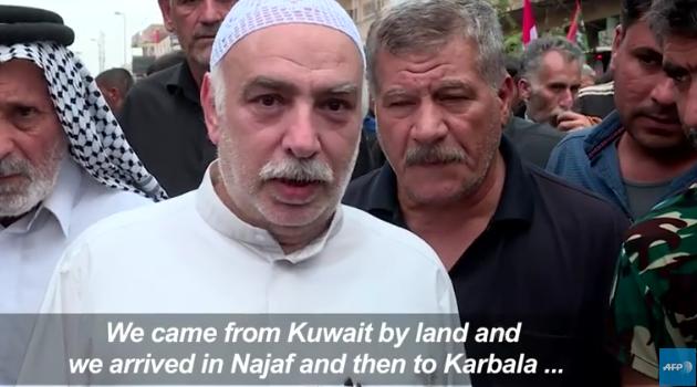 Video: Millions of Shiite Pilgrims head to Karbala | Iraq