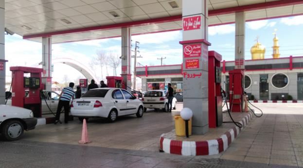 Filling station in Borujerd, Lorestan (credit, Asadi s)