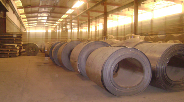 Ur State Company, rolls of steel