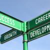 Success, growth, career, development signpost from 3D_Creation, Shutterstock