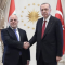 Abadi with Turkish PM Erdogan 140818