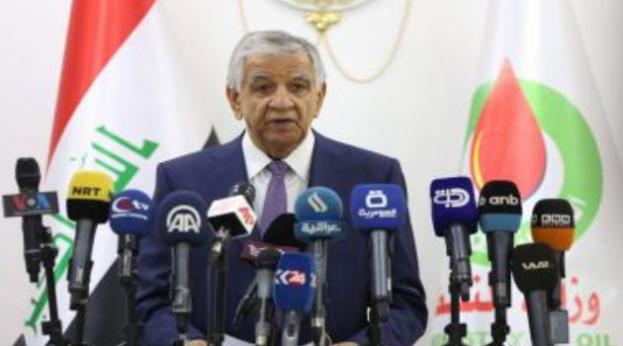 Oil Minister Jabar Ali al-Luaibi (Allibi, Luiebi) 230918