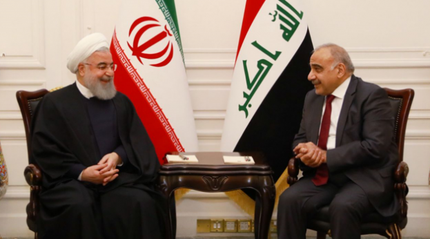 Revealed the date of a spiritual visit to Baghdad Adil-Abdul-Mahdi-of-Iraq-and-Rouhani-of-Iran-in-Baghdad-110319-b-623x346