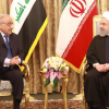 Adil Abdul-Mahdi and PM Rouhani of Iran, 060419