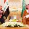 Adil Abdul-Mahdi with Saudi Crown Prince Mohammed Salman