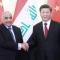 Adil Abdul-Mahdi with Chinas Xi Jinping 230919