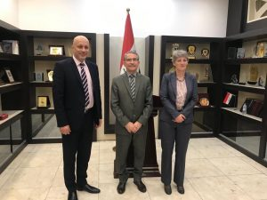 IBBC and Nahrein network hold successful workshop session preparing Iraqi Universities for International Research collaborations with MoHE and scientific Research C89d8277-83a2-4077-9110-e5474c325889-300x225