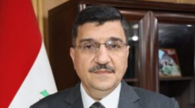 Iraqi Minister of Water Resources Mahdi Rashid